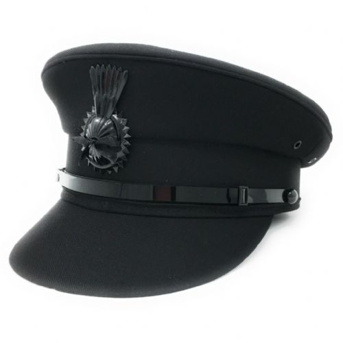 Chauffeurs Hat - Black - Driving Cap